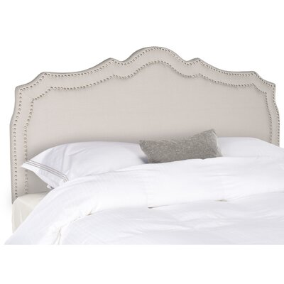 Quiana Upholstered�Panel Headboard Size: Queen, Color: Taupe