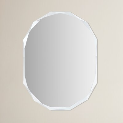 Frameless Diamond Wall Mirror