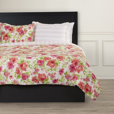 Pantelle Reversible Comforter Set Size: Twin