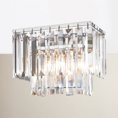 Springfield 1-Light Wall Sconce Finish: Polished Chrome, Bulb Type: 4.8W LED