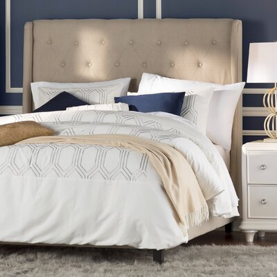 Lina Panel Upholstered Bed Size: Queen