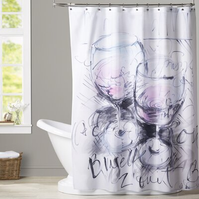 Izora Parisian Rose Shower Curtain