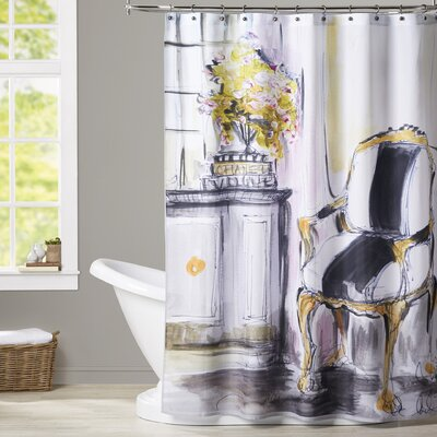 Maria La Chaise Shower Curtain