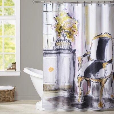 Maria La Chaise Shower Curtain