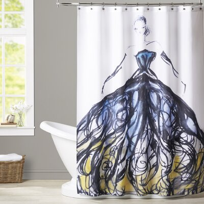 Goodrich Evening at the Met Shower Curtain