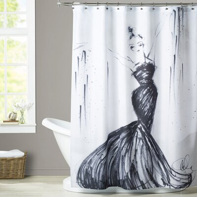Lorna Oh La La Shower Curtain