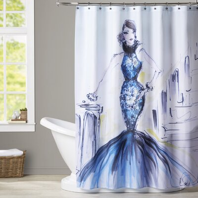 Joyce Shower Curtain