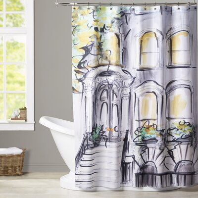 Atha Curb Appeal Shower Curtain
