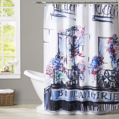 Delphine Boulangerie Palais Royal Shower Curtain