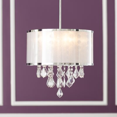 Leibowitz 4-Light Drum Chandelier
