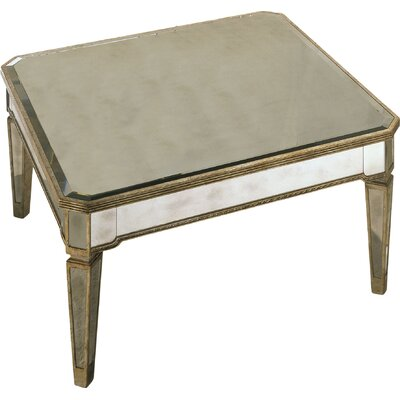 Roehl Mirrored Coffee Table