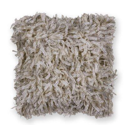 Bluffton Shimmer Indoor/Outdoor  Throw Pillow Color: Cream