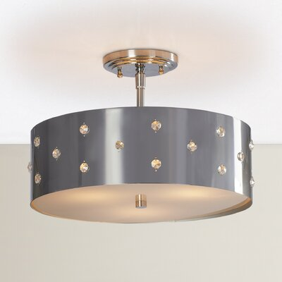 Imogen 3-Light Semi Flush Mount
