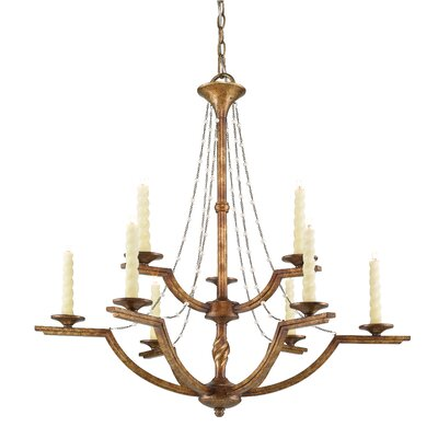 Gambon 9-Light Candle-Style Chandelier