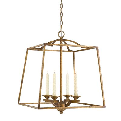 Gambon 4-Light Foyer Pendant