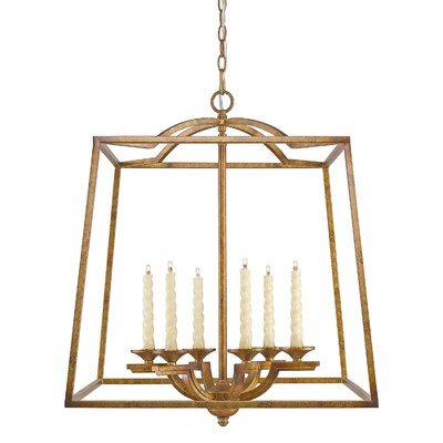 Senter Traditional 6-Light Foyer Pendant
