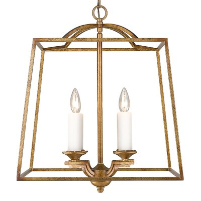 Senter 4-Light Metal Foyer Pendant
