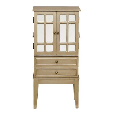 Banbury Jewelry Armoire with Mirror