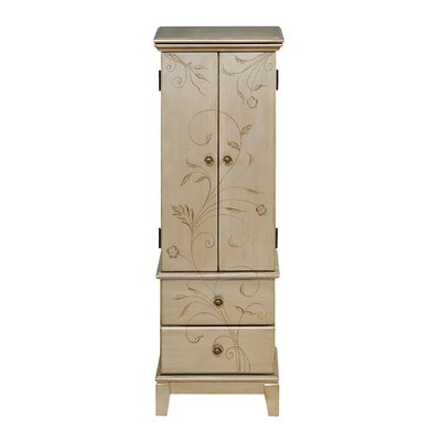 Lummen Jewelry Armoire with Mirror