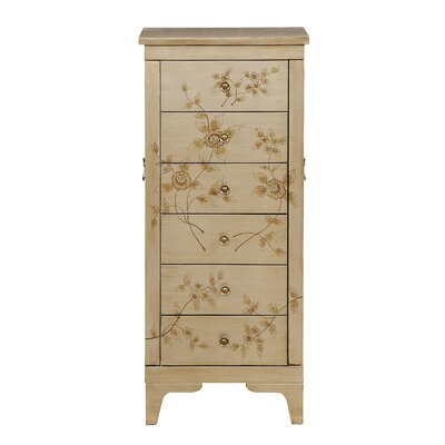 Magdalena Jewelry Armoire with Mirror