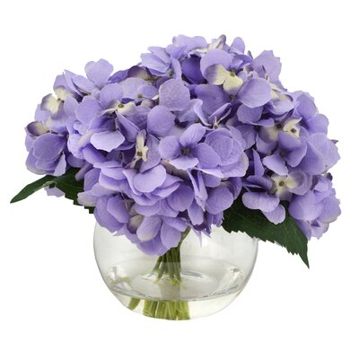 Hydrangea Bouquet in Water
