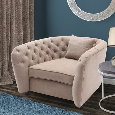 Canterbury Arm Chair Upholstery: Camel