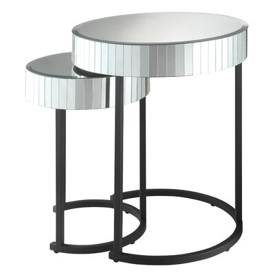 Dora 2 Piece Nesting Table Set