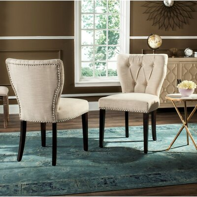 Downey Side Chair Upholstery: Wheat