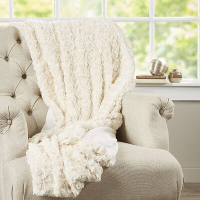 Bursaite Faux Fur Throw