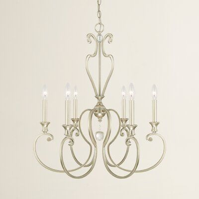 Alnwick 6 Light Candle-Style Chandelier