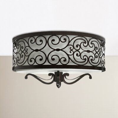Gidney 2-Light Flush Mount