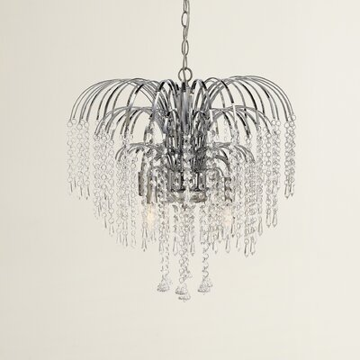 Marlowe 4-Light Crystal Chandelier