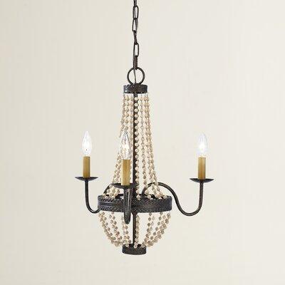 Sudbury 3-Light Candle-Style Chandelier