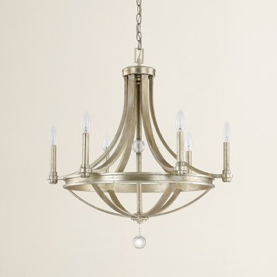 Preston 6-Light Candle-Style Chandelier