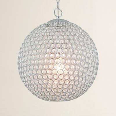 Naninne 1-Light Globe Pendant