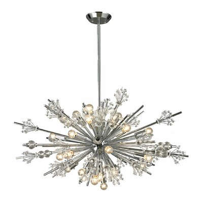 Dewsbury 24-Light Sputnik Chandelier