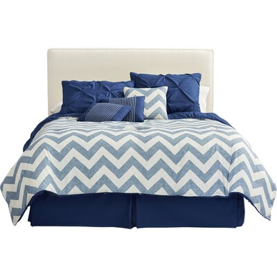 Germain Comforter Set Size: Queen, Color: Navy