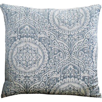 Lankin Throw Pillow Color: Blue
