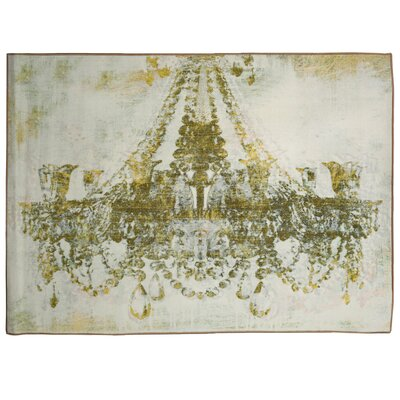 Massenhoven Gold Diamonds Area Rug