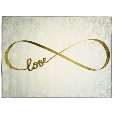 Martelange Sparkle Love Area Rug