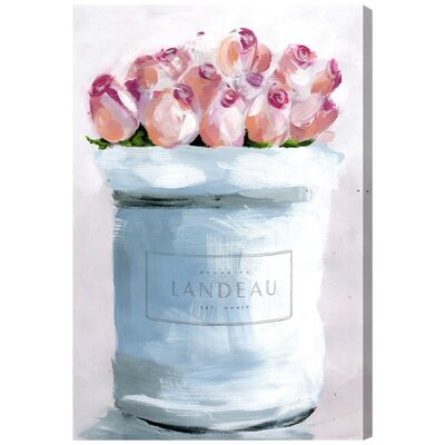 The Loveliest Flowers Painting Print on Wrapped Canvas Size: 15