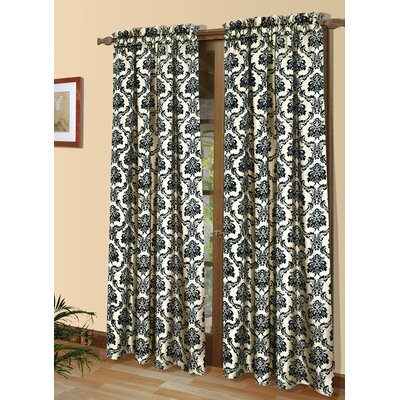 Jette Thermal Single Curtain Panel