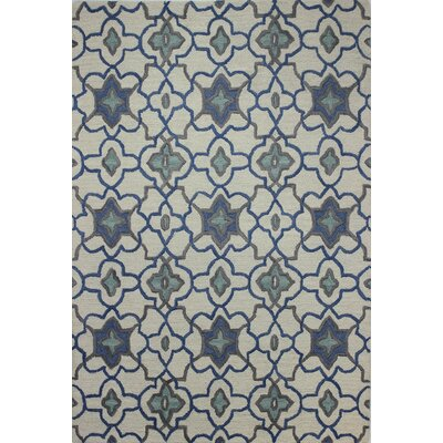 Lessines Hand-Tufted Ivory Area Rug