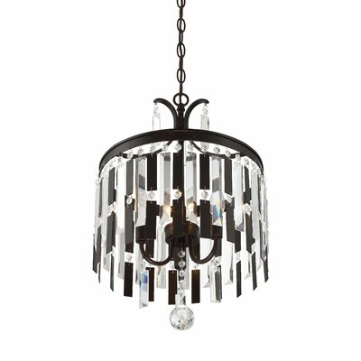 Andrimont 3-Light Crystal Chandelier