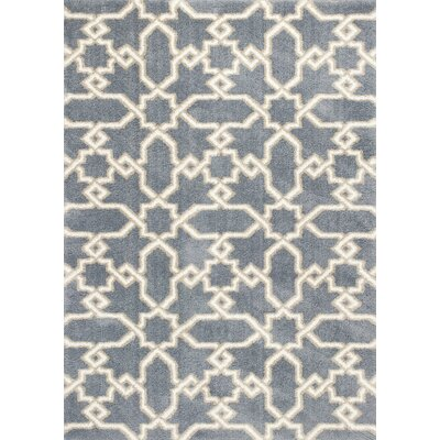 Annia Slate Blue Area Rug Rug Size: 710 x 106