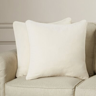 Bayldon Cotton Velvet Pillow