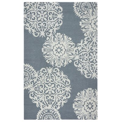 Randolph Hand-Tufted Grey/Off White Indoor/Outdoor Area Rug