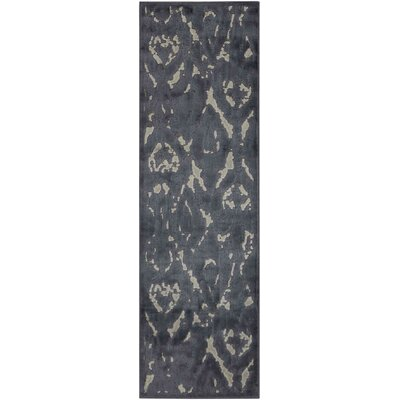 Maryport Gray Area Rug Rug Size: Runner 110 x 6
