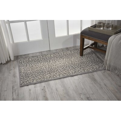 Cadmium Gray Area Rug Rug Size: Rectangle 79 x 99