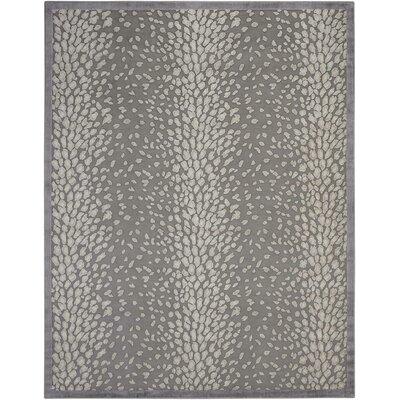 Cadmium Gray Area Rug Rug Size: 79 x 99